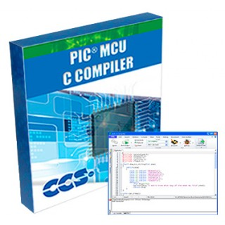 PCWHD IDE Compiler for Microchip PIC® PIC10 Through PIC24 MC
